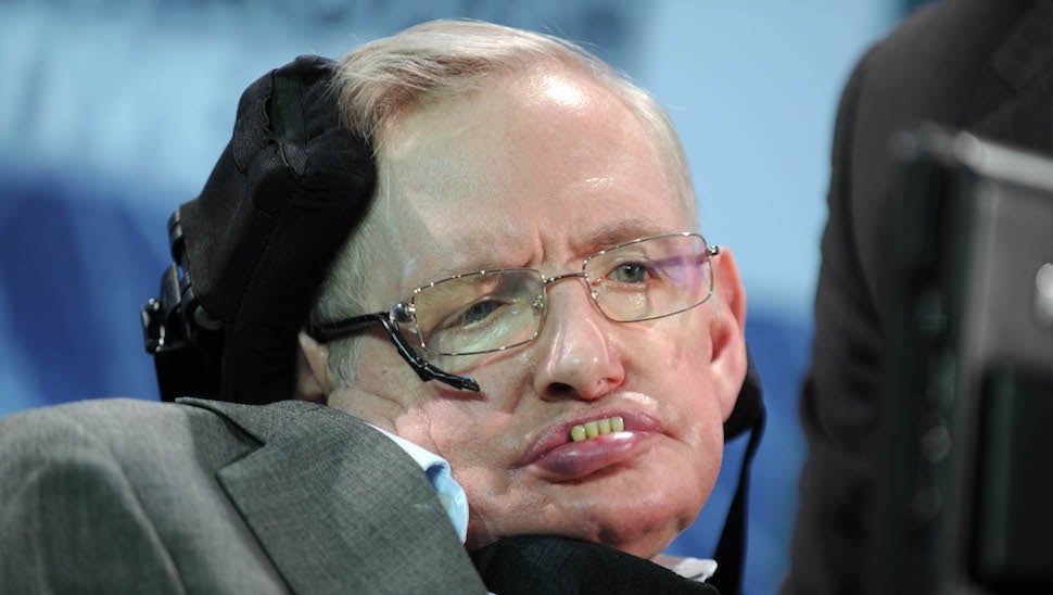 Noted Genius Stephen Hawking Literally Can't With Donald Trump