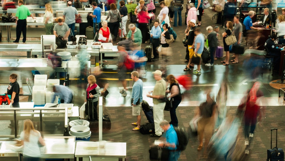 An Austin Airport Is Counting Cell Phones to Predict TSA Wait Times