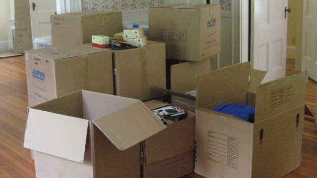 Pack a 39 first night 39 box to make moving easier for Moving items into place