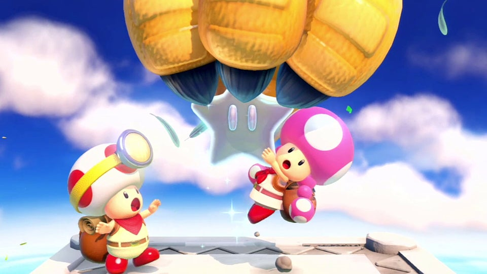 Captain Toad Is a Story of Murder, Robbery, Addiction and Greed