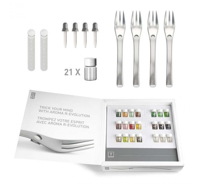 Aromatic Forks Let You Mix Random Smells With Your Food
