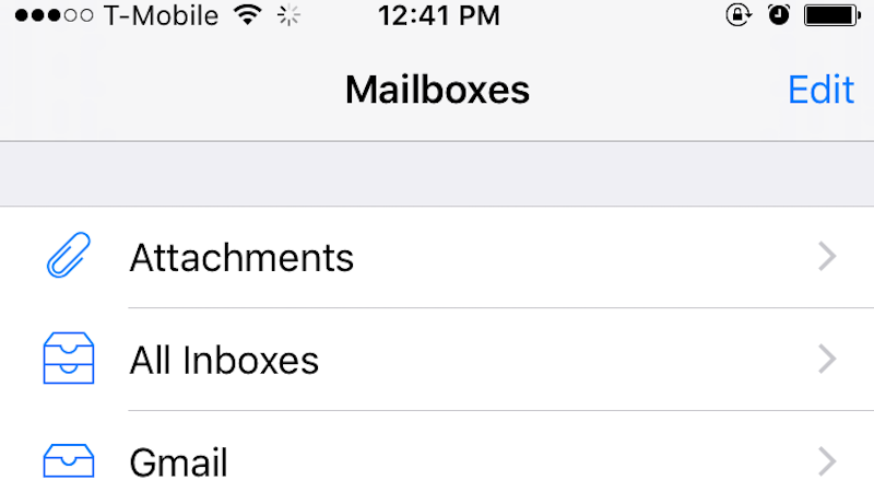 Set Up An Attachments-Only View In iOS Mail With A Quick Toggle
