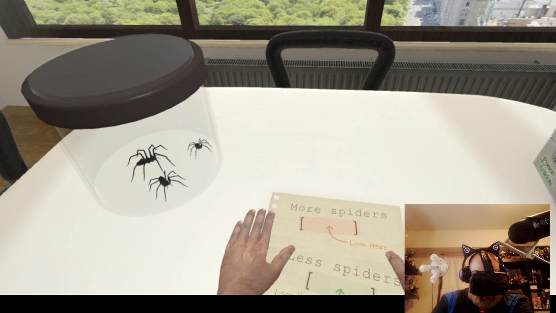 Virtual Reality Arachnophobia Therapy Is A Definite Nope