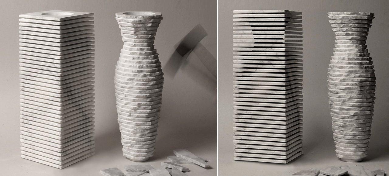 Amateur Michelangelos Can Sculpt This Marble Vase Themselves