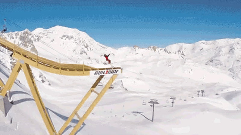 Ski Jumping On a Ziplining Bungee Sounds Fundamentally Unsafe