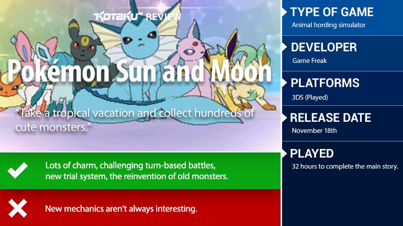 Pokemon Sun And Moon: The Kotaku Review | Kotaku Australia