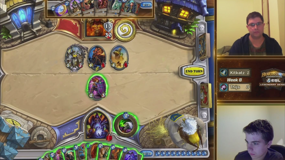 Winning Hearthstone Play Had A 0.00041% Chance Of Happening