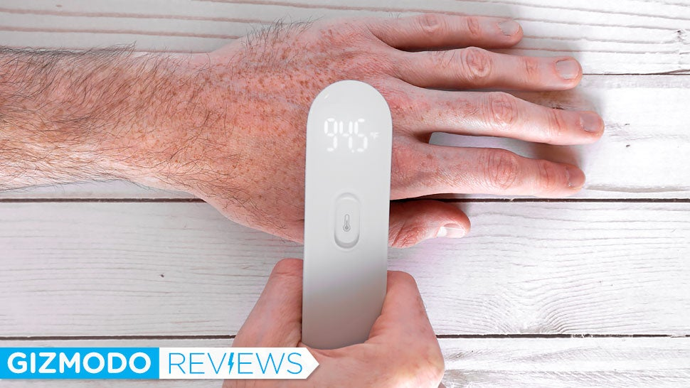 This $27 Thermometer Doesn't Even Need To Touch You To Take Your Temperature