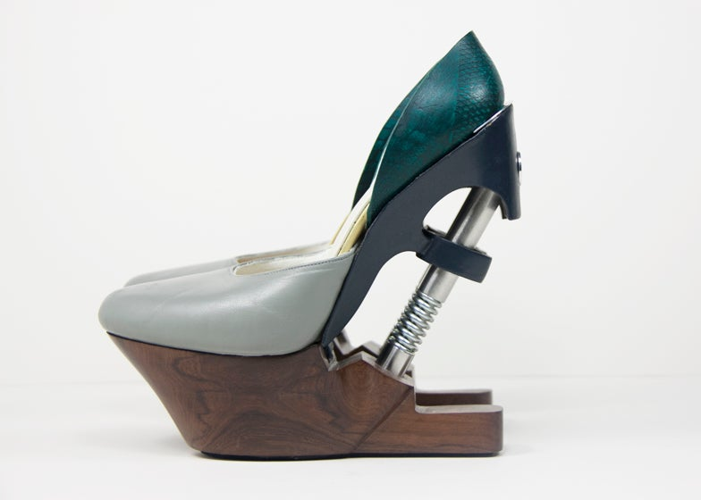 I Would Totally Wear High Heels Equipped With Hydraulic Springs