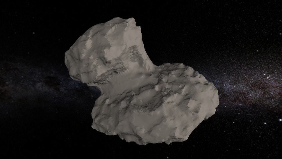New 3D Shape Model Shows the Rosetta Comet in Unprecedented Detail