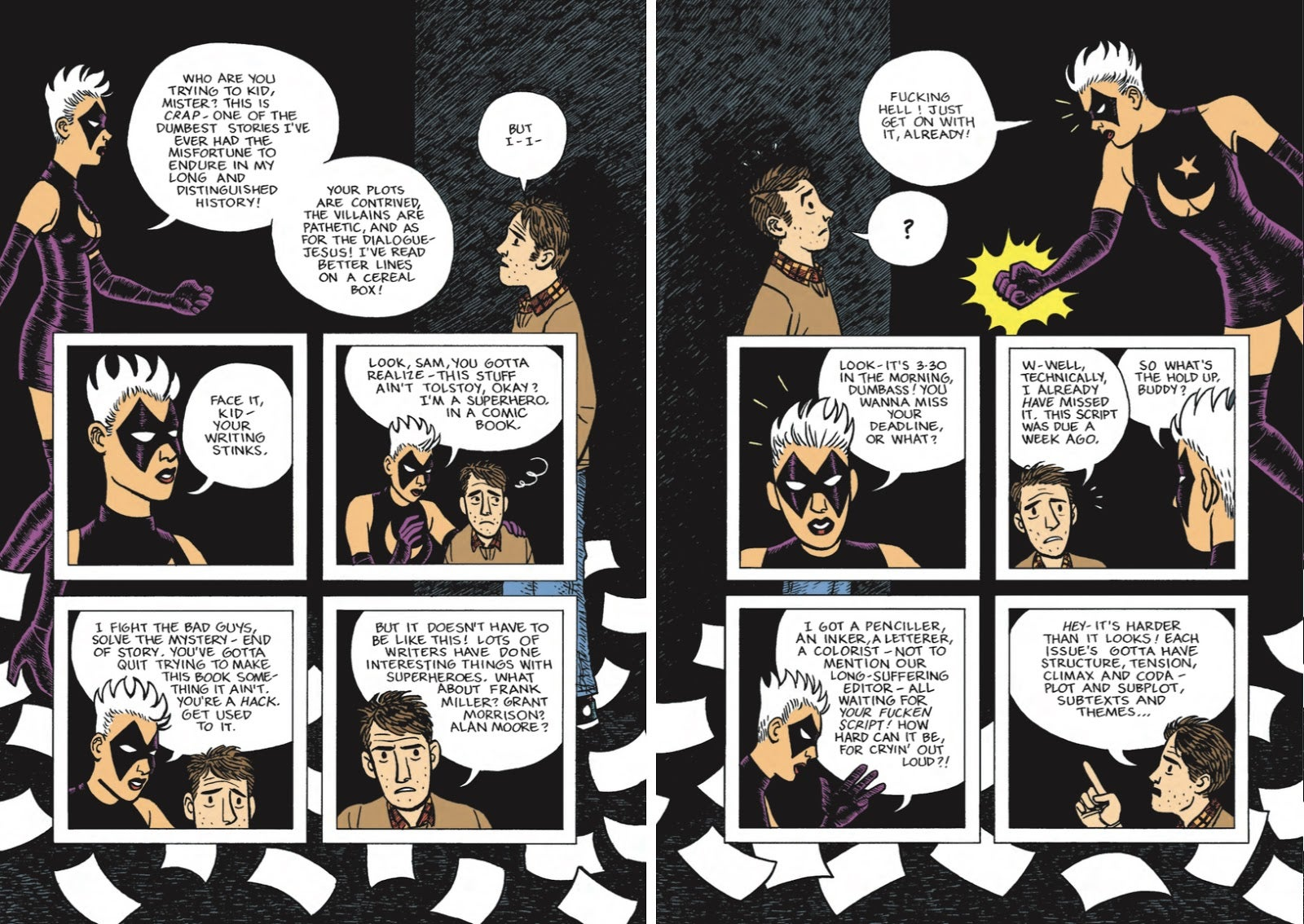 A Graphic Novel That Shows The Creepy And Awesome Sides Of Nerd Culture