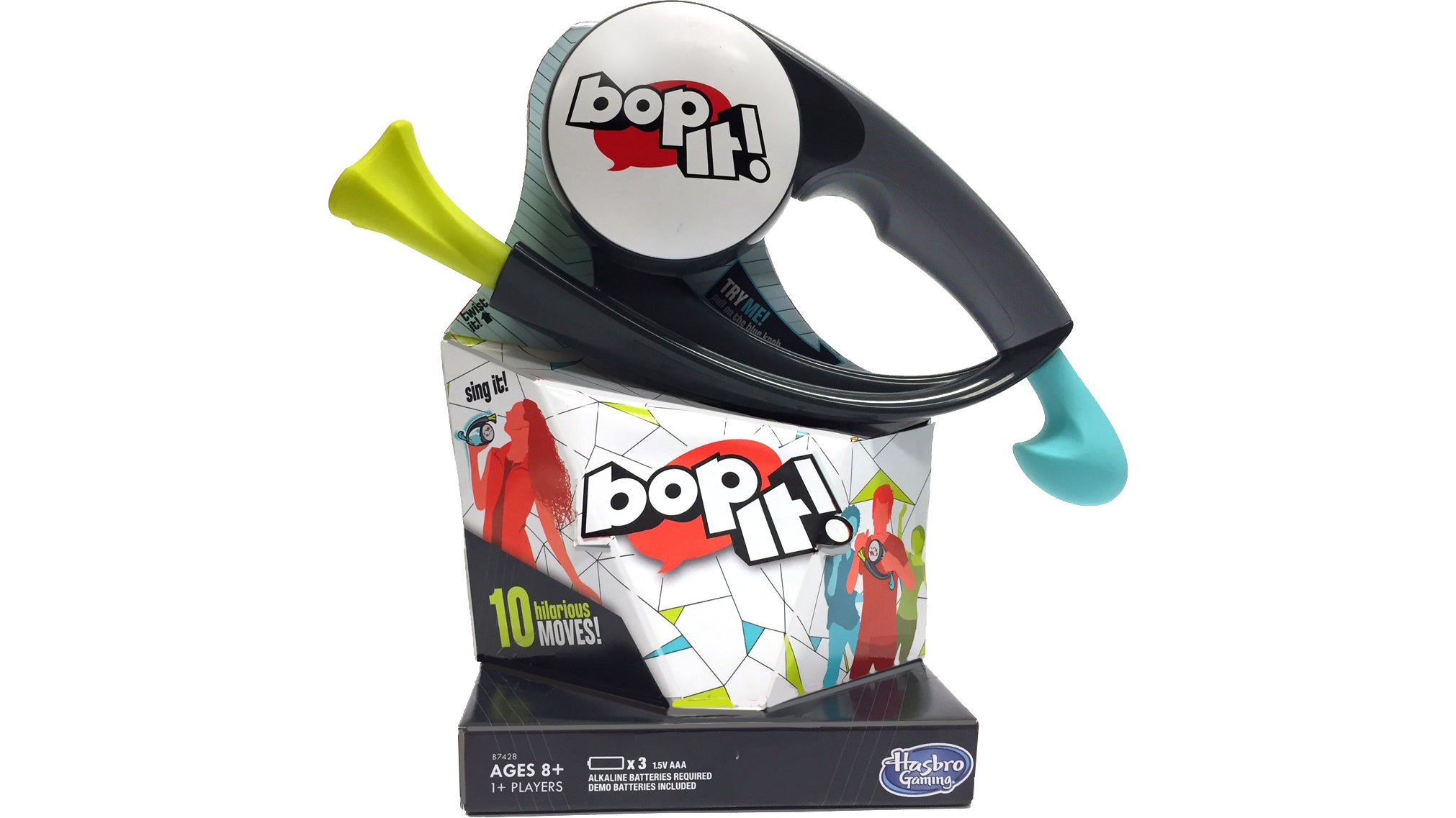 The New BOP IT Adds a Motion Sensor So Players Have to Perform Actions Too