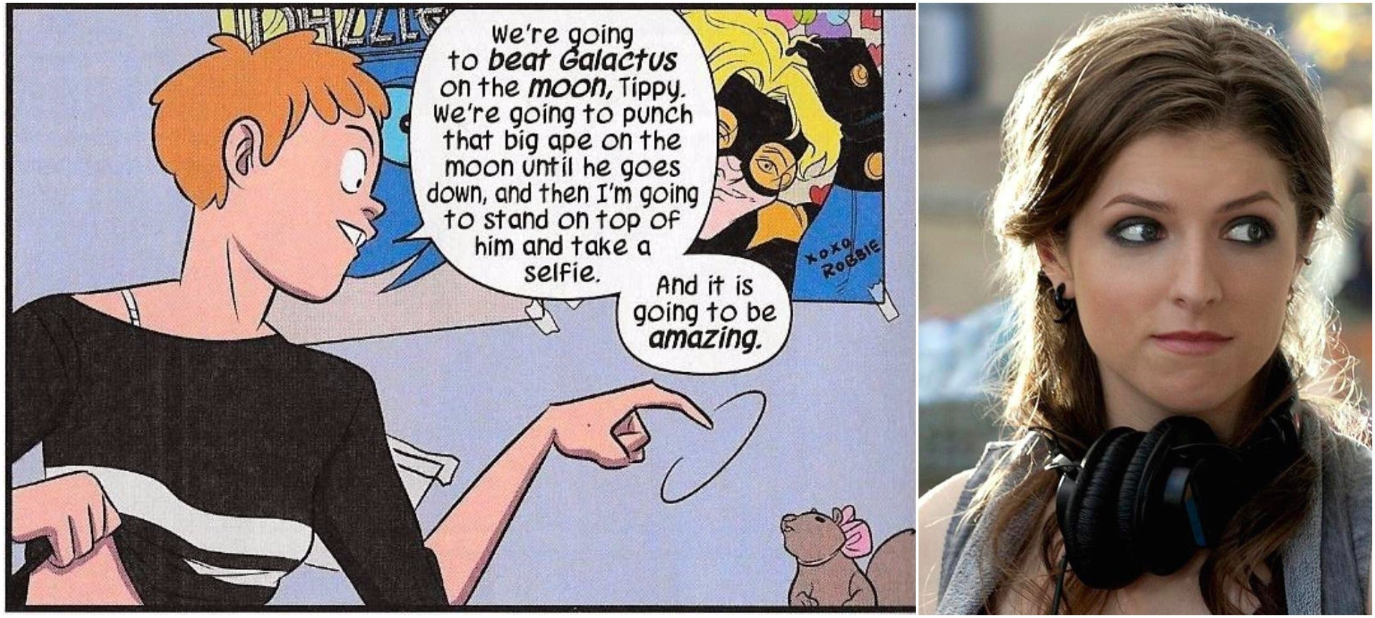 Anna Kendrick Is Aware Of Squirrel Girl And Willing To Play Her, So Let's Make This Goddamn Happen