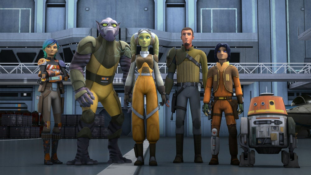 Early Plans For Star Wars Rebels Included What Became Rogue One