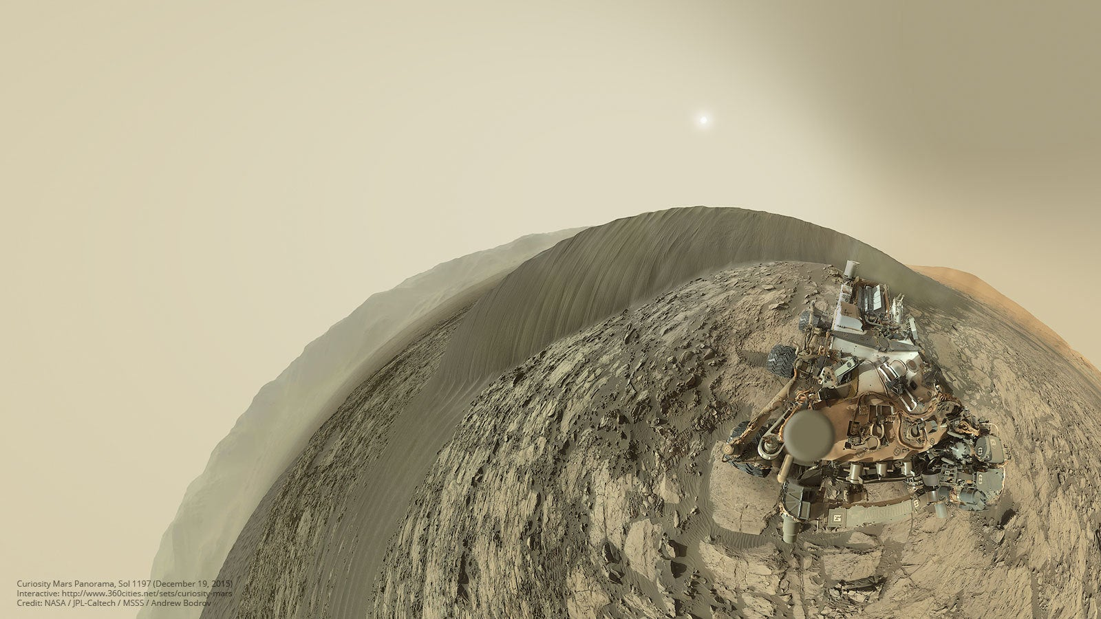 The Mars Curiosity Rover Learned A New Camera Trick