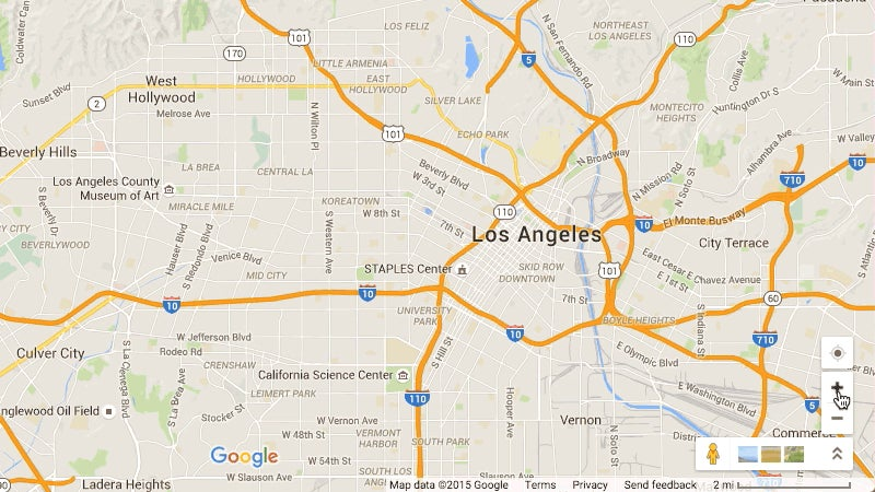 Bring Back the Zoom Slider in Google Maps
