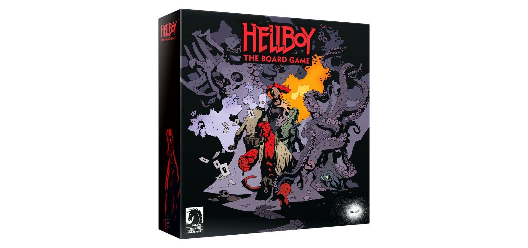 Hellboy Board Game Kickstarter Raises $1 Million In About Five Seconds
