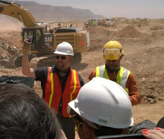 E.T. Found In New Mexico Landfill