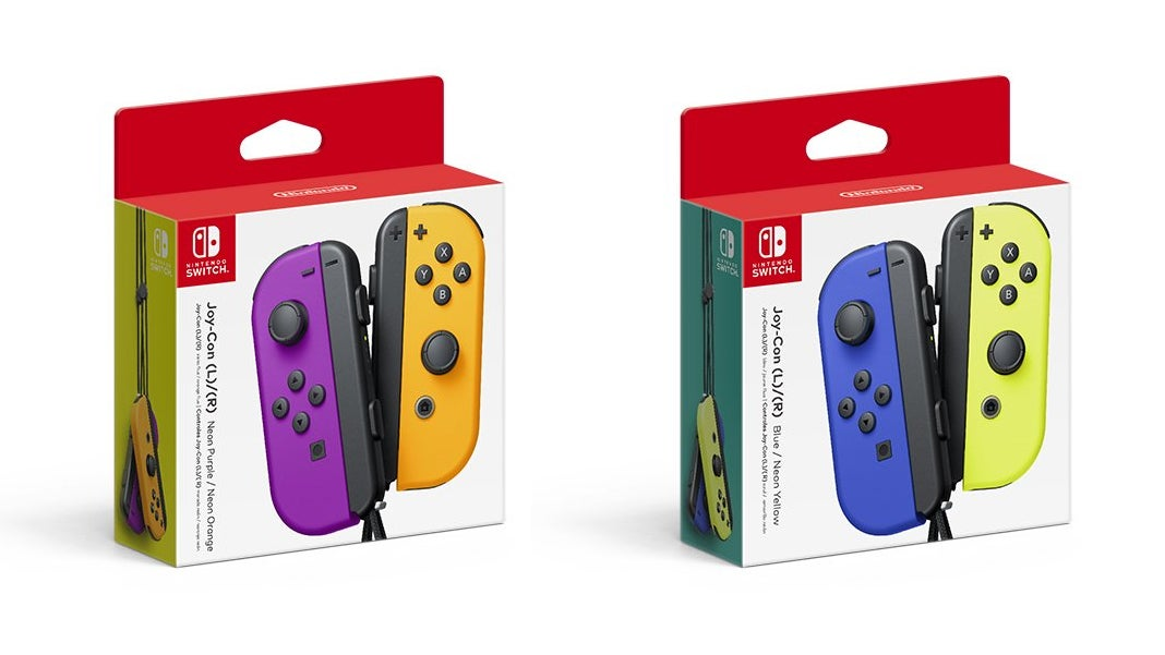 Nintendo Announces New Joy-Con Colours, Which Look Pretty Damn Nice