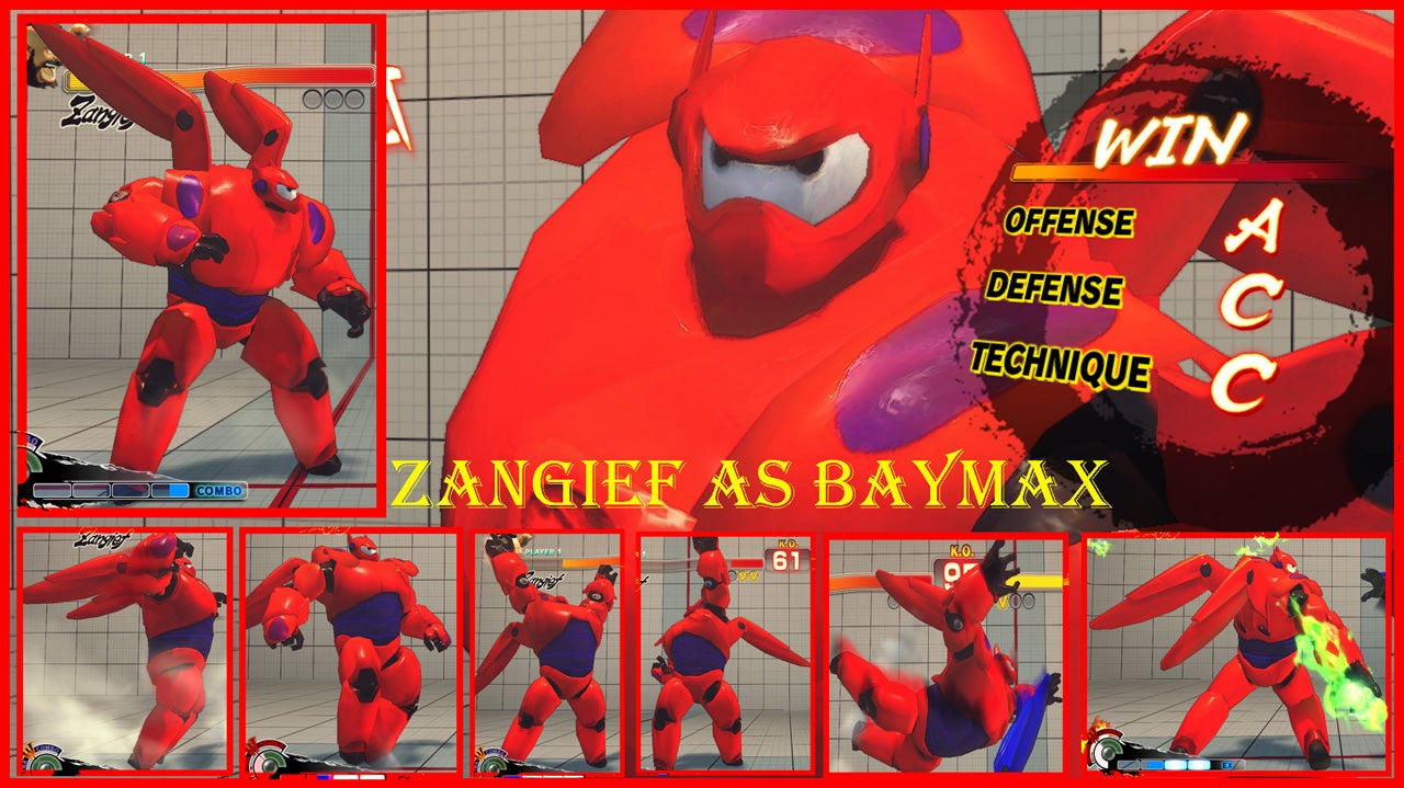 Someone Put Big Hero 6 Characters In Street Fighter IV