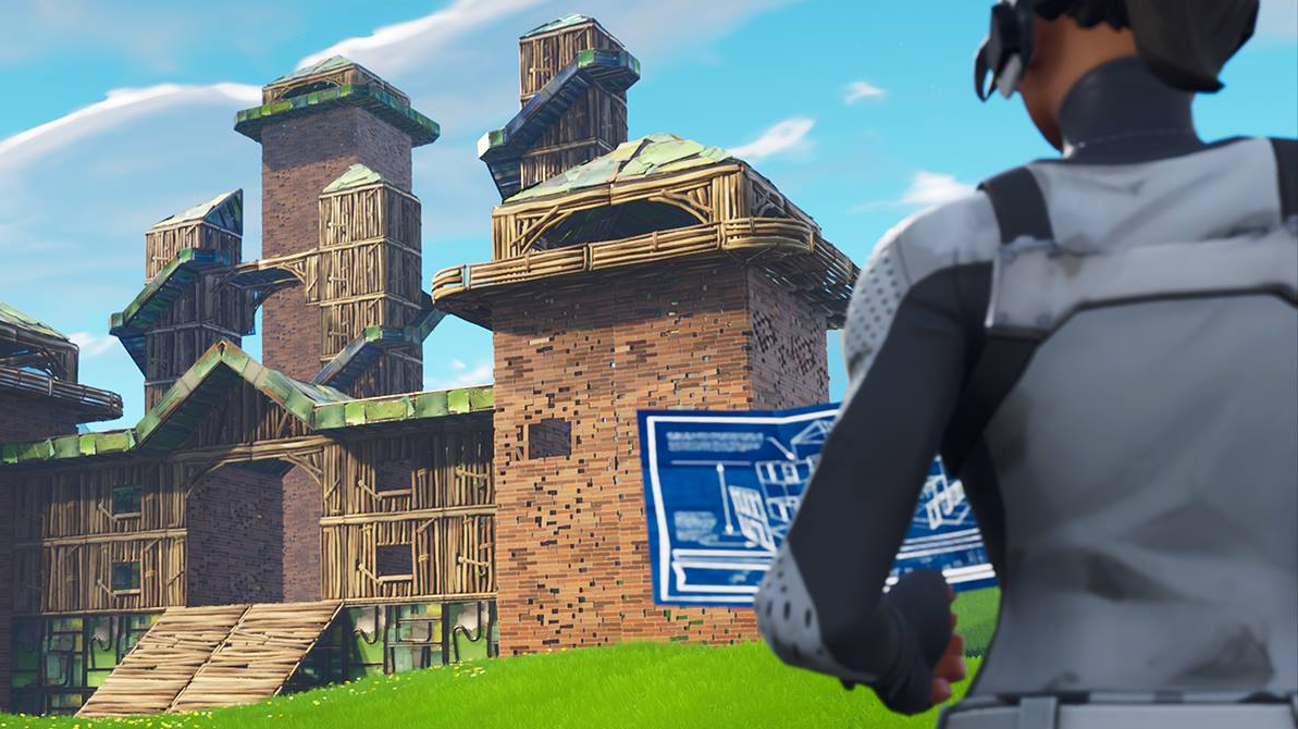 Fortnite's New Update Nerfs Fort Building