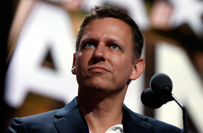 Report: Peter Thiel Quietly Building Silicon Valley 'Brain Trust' To Help Trump