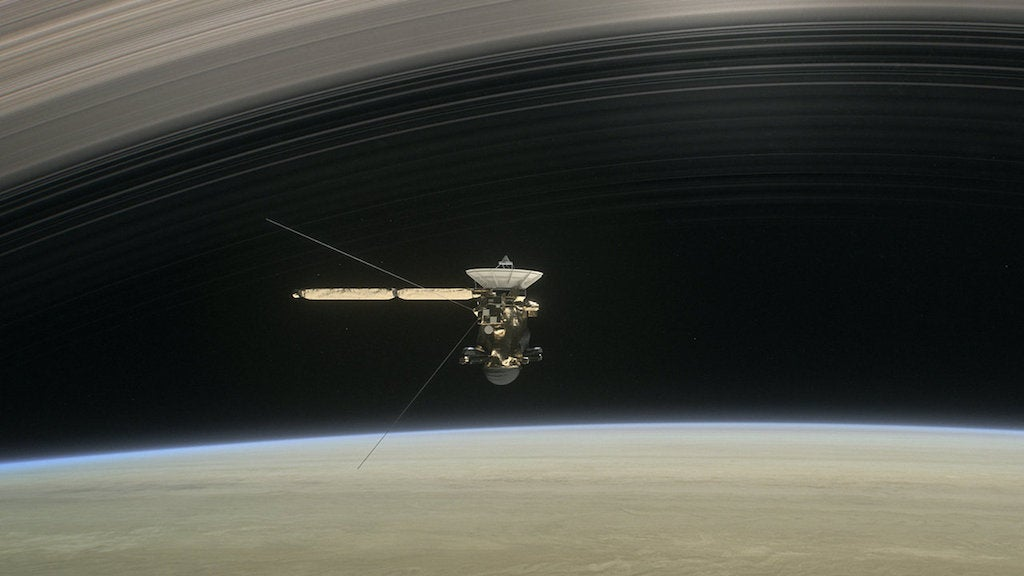 Cassini Has Made Earth Feel Small, But Part Of Something Bigger