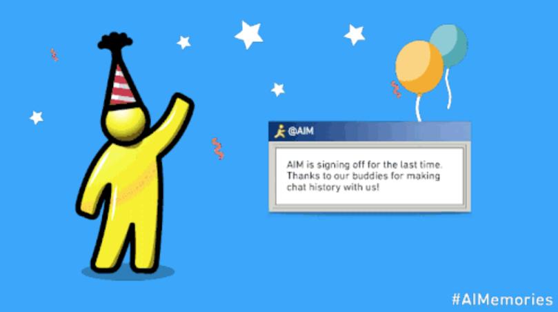 End Of An Era: AIM Is Shutting Down This Year