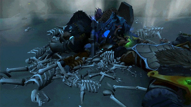 Witness World Of Warcraft: Legion's Amazing Steam Death Cave Before It's Gone
