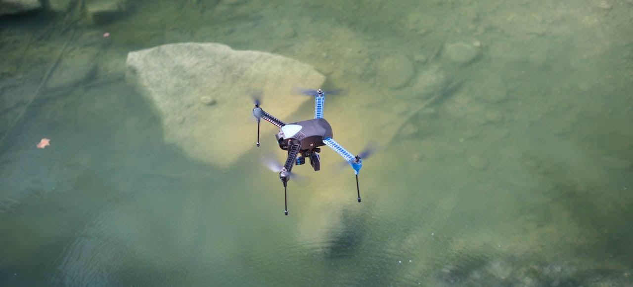 New Autonomous 3D Robotics Drone Follows You Wherever You Go