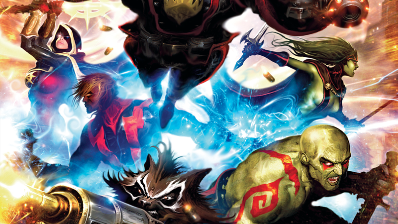But Adam also has history with the 2008-era Guardians team thanks to Dan  Abnett and Andy Lanning's run on the characters; that brought a new version  of ...