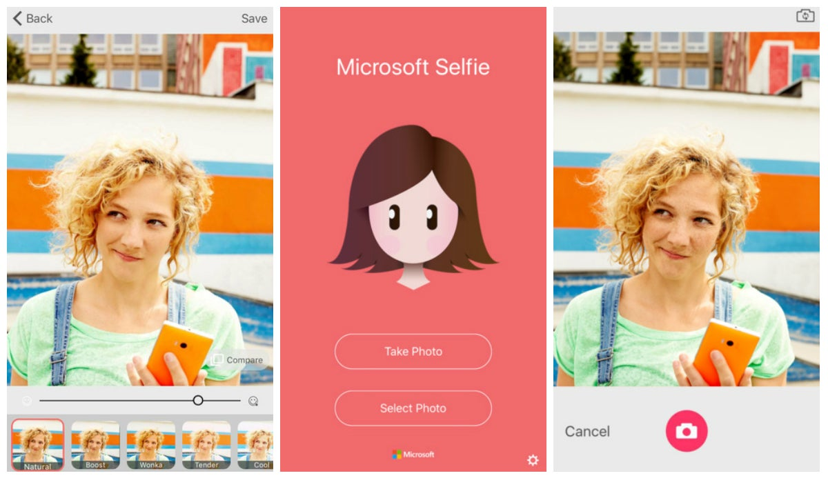 Microsoft's Latest iOS Creation Is a Selfie App We Don't Need But Whatever