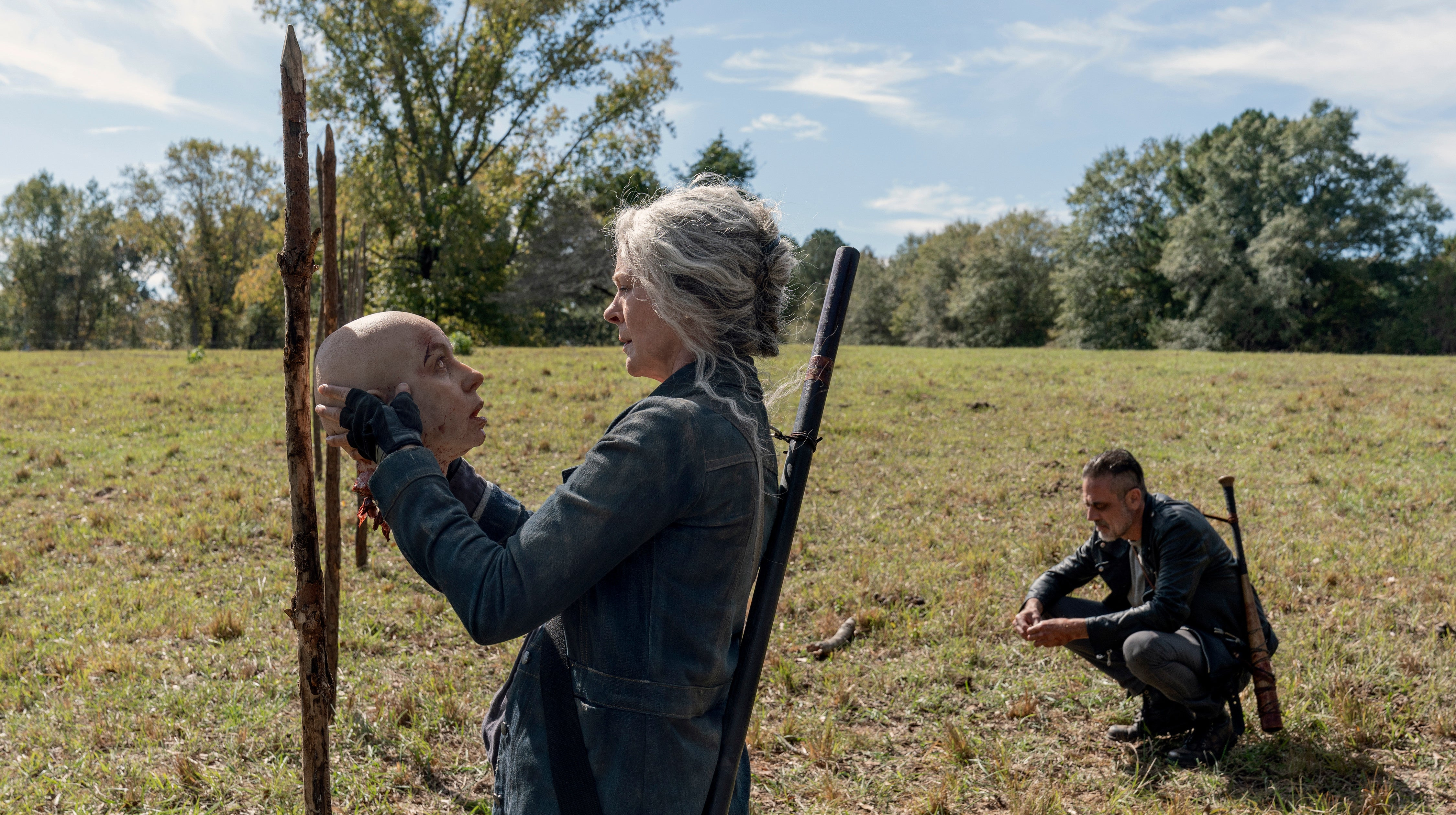 Even Decapitated, Alpha's Still A Major Threat On The Walking Dead