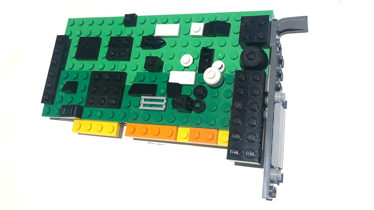 A LEGO Sound Blaster Wouldn't Be As Hard To Install