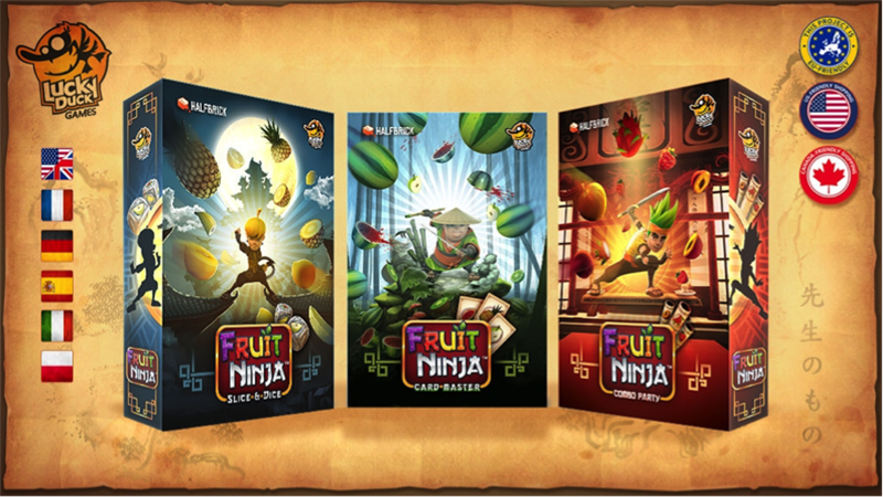 Apparently People Really Want Fruit Ninja Tabletop Games