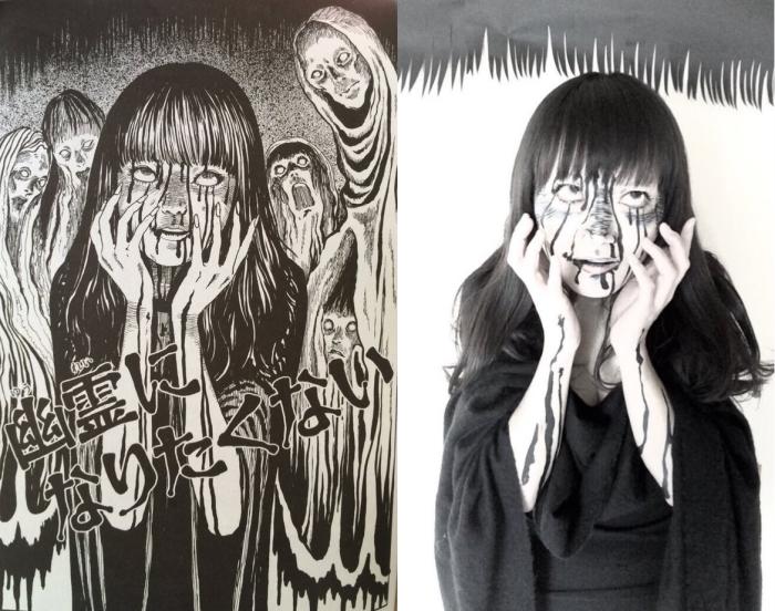Recreating Horror Manga In The Flesh