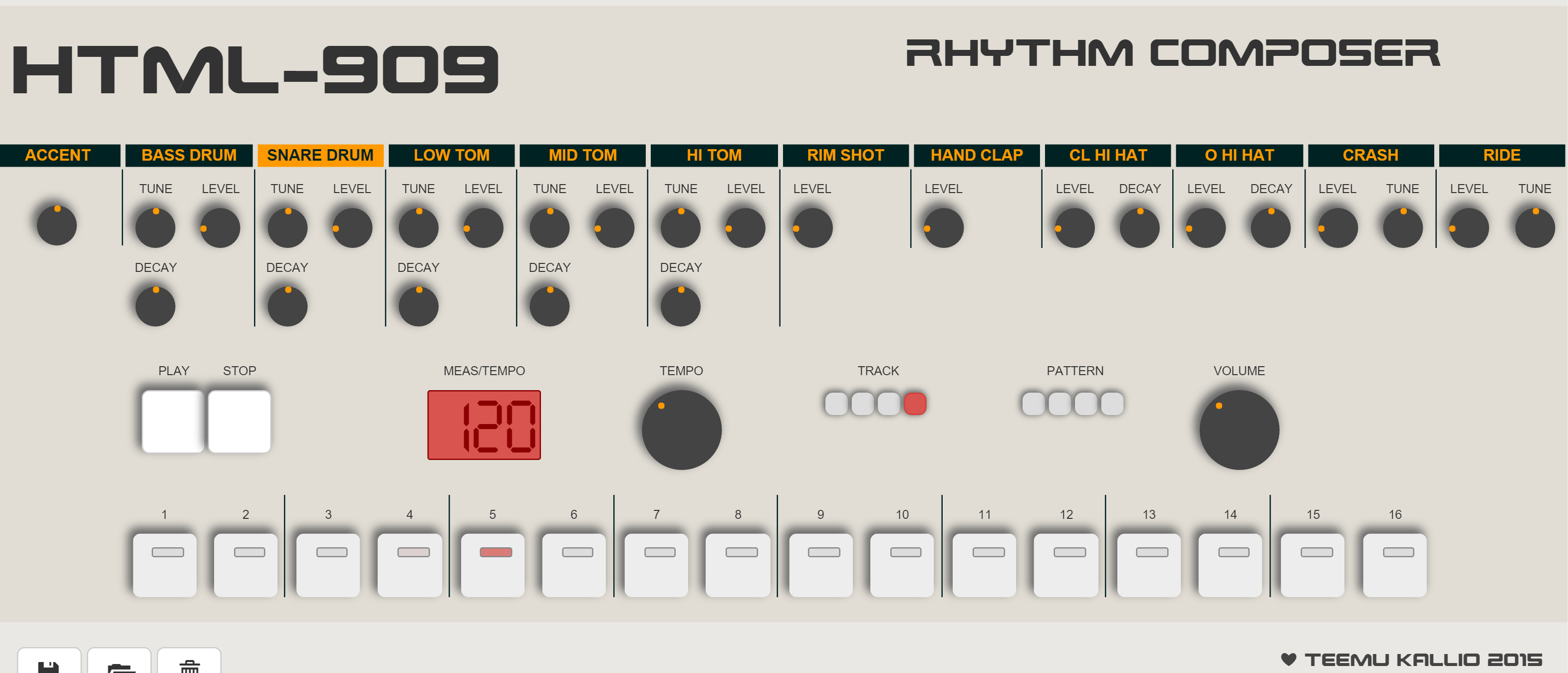 Do Not Start Playing This HTML5 Drum Machine If You Have Anything to Accomplish Today
