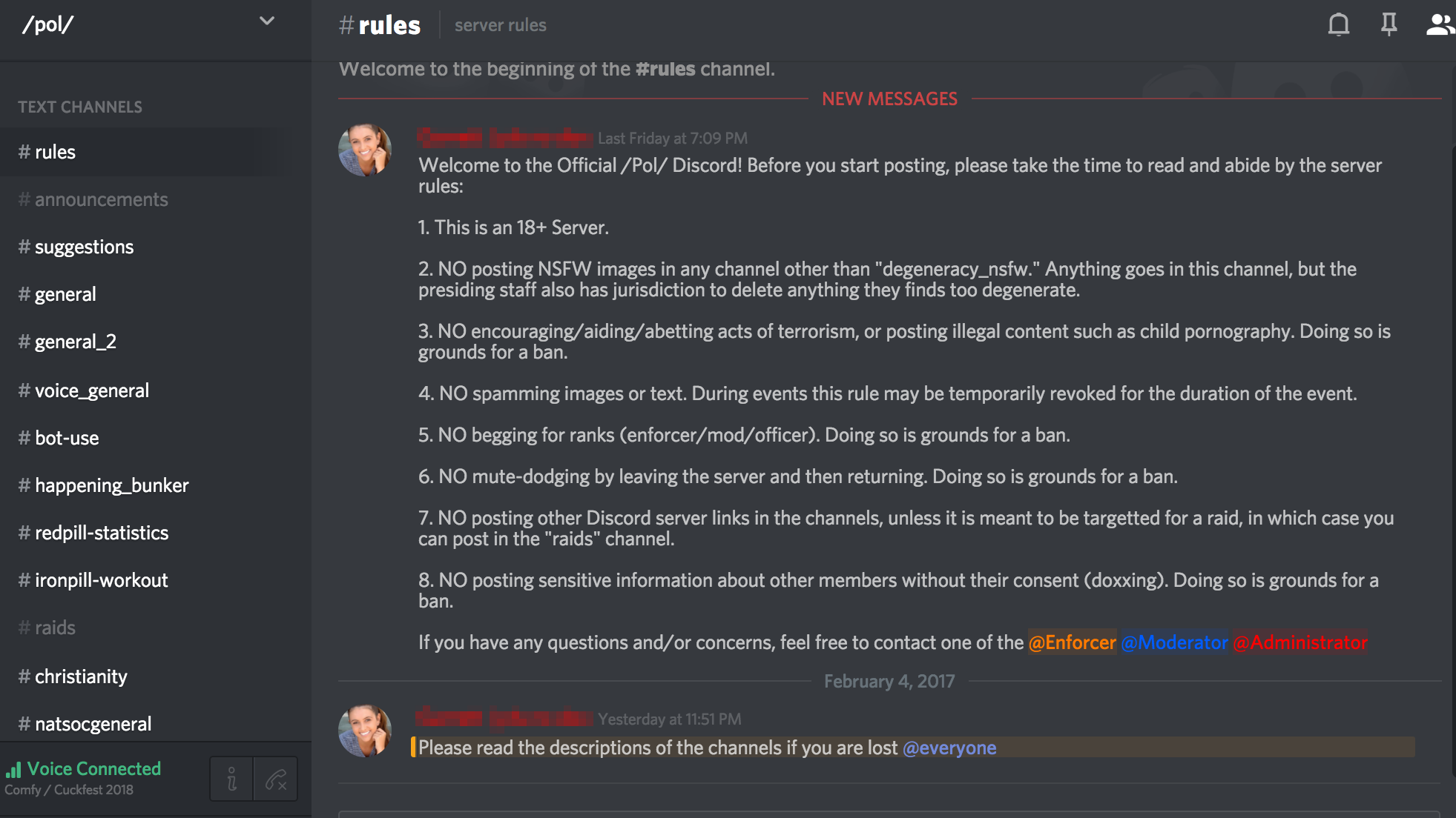 how to delete discord messages in a server