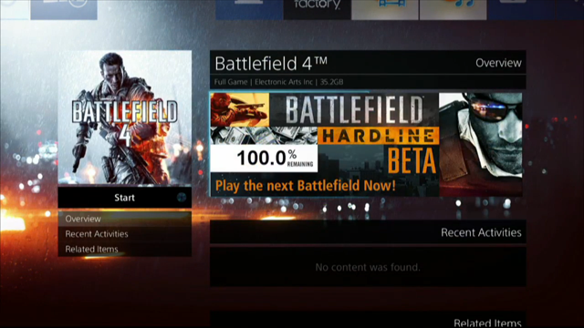 The Battlefield: Hardline Beta Is Live Now