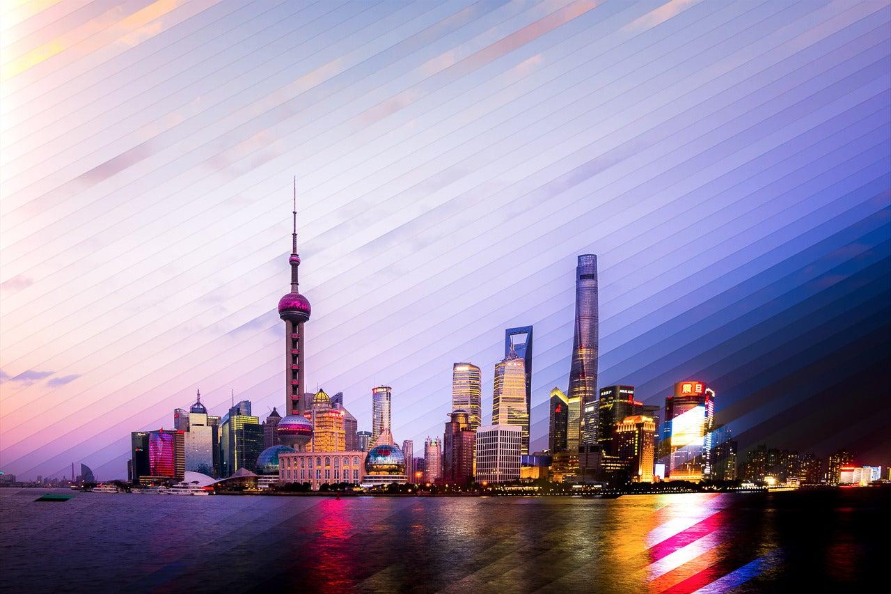 Stunning photographs capture day and night of Shanghai and Hong Kong