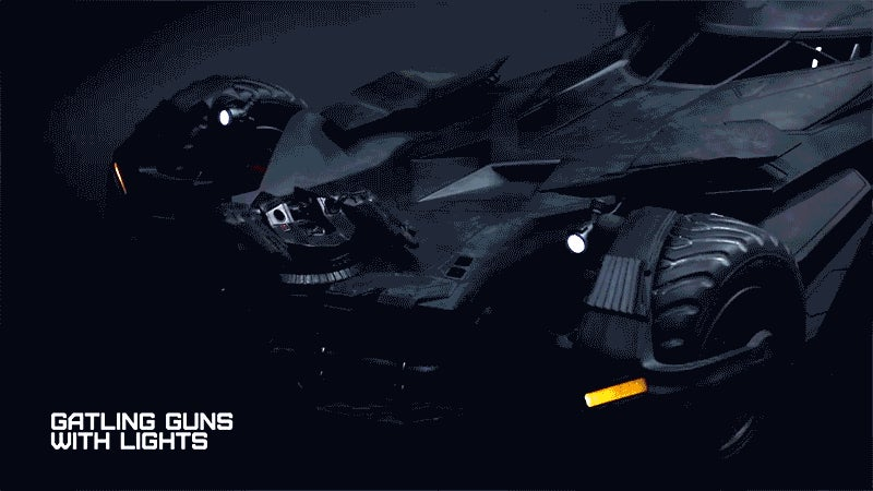 Lust and Drool Over Video of Hot Toys' Batman v Superman Batmobile in Action
