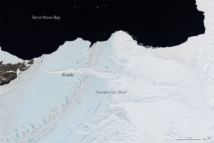 A 48km-Long Ice Shelf Is About to Break Away From Antarctica