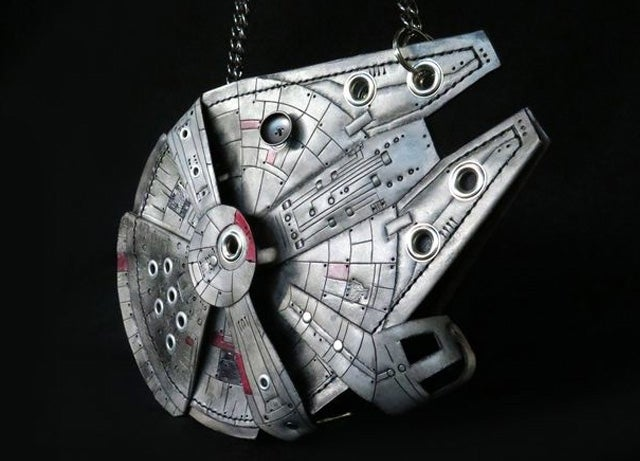 This Glowing Millennium Falcon Purse Is the DIY Project You Were Looking For
