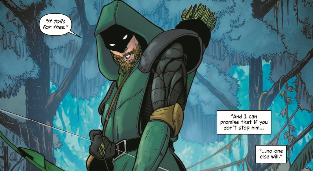 The Green Arrow Is Playing A Most Dangerous Game In WildStorm's NewMichael Cray Series