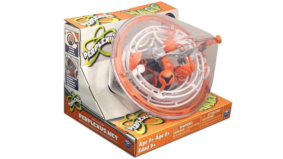 The Perplexus Warp Ball Maze Teaches Patience and a Hatred Of Gravity