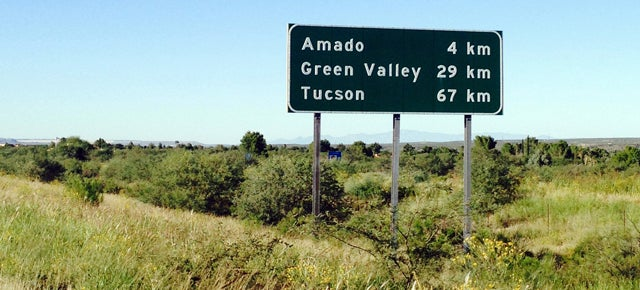 An Arizona highway has used the metric system since the 80s
