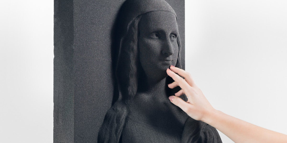 These 3D-Printed Pictures Could Help the Blind Experience Classic Art