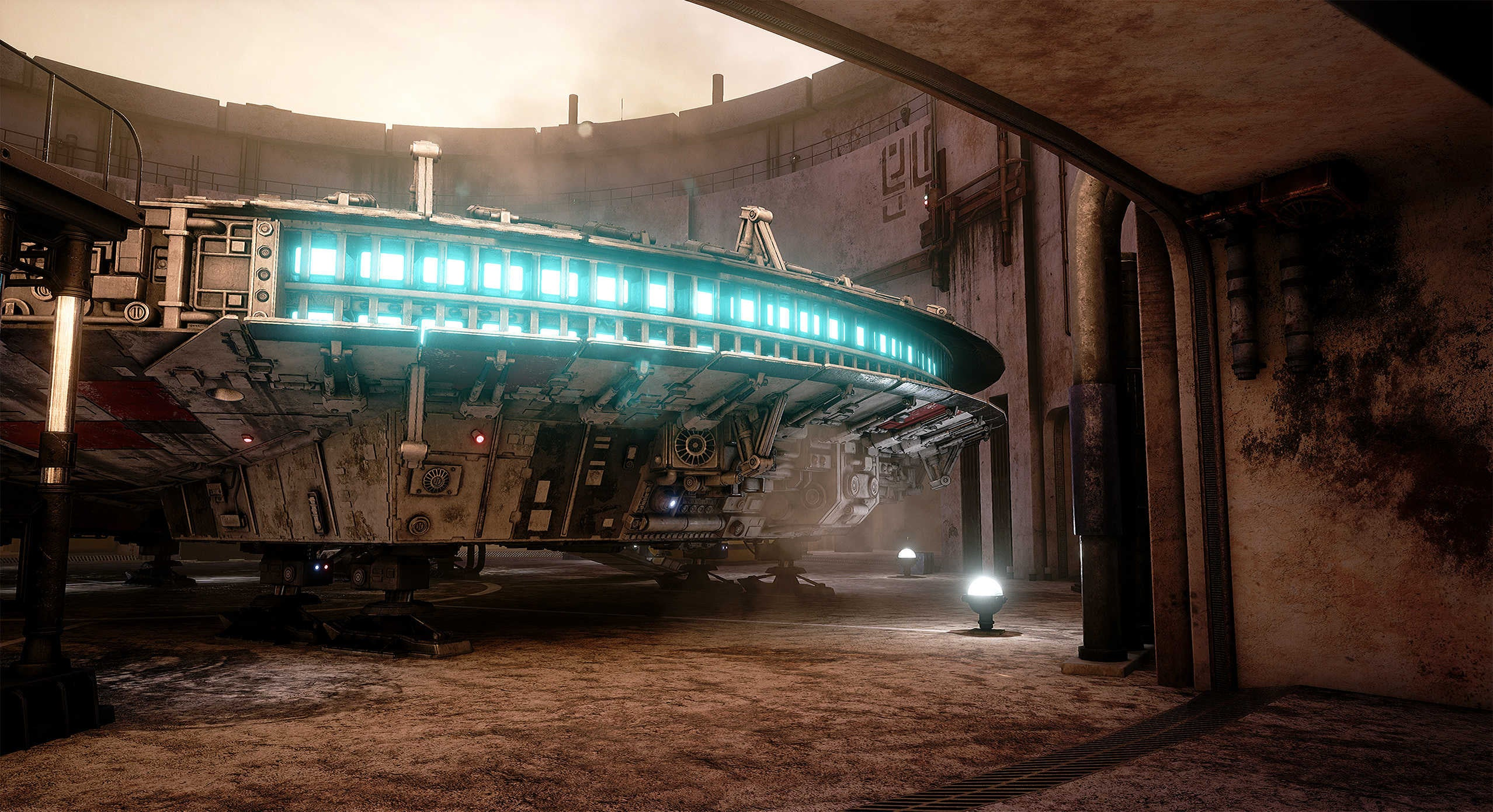 The unreal engine 4 recreation of star wars looks real for Unreal engine 4 architecture