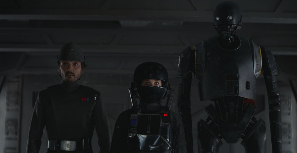 Everyone Is Geeking Out In This New Rogue One Video