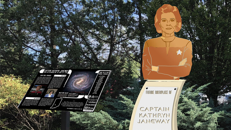 Captain Janeway's Hometown Could Get A Star Trek Memorial, With Your Help